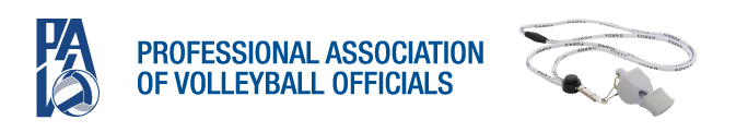 Professional Association of Volleyball Officials